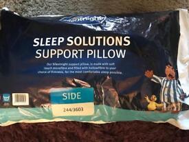 Silentnight sleep solution support pillow