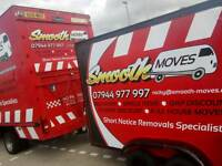Removals /man with van Edinburgh/short notice specialist's