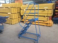 HEAVY DUTY INDUSTRIAL COMMERCIAL WAREHOUSE PALLET RACKING LADDERS STAIRS