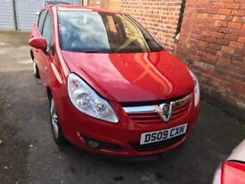 Vauxhall Corsa breaking for part
