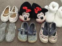 Size 5 toddler shoes/ sandals/ slippers