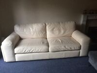 Cream SCS sofa