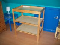 Mothercare Open Baby Changing Table