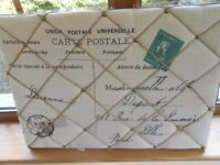 Shabby Chic Vintage Style Message Board -New