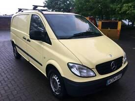 Mercedes Vito Cdi Compact Panel van, Diesel £0 Tax/year,only 115k miles,2 Remote keys,