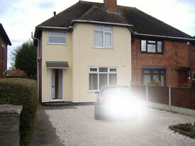 :::: Part Furnished 3 Bed House with parking :: Chantry Avenue :: Walsall :: WS3 3EZ :: No Dss ::::