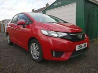 2016 HONDA JAZZ S I-VTEC RED ACCIDENT DAMAGED REPAIRABLE SALVAGE