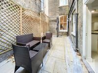 FREEHOLD spacious one bed apartment with a private garden in the heart of Clerkenwell