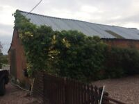 Brick built watertight barn for rent in Whitchurch, shropshire.