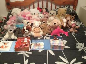 Huge collection of soft toys
