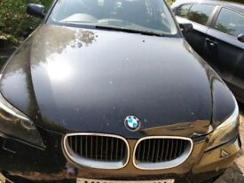 **BMW 520D Black just serviced and ready to go