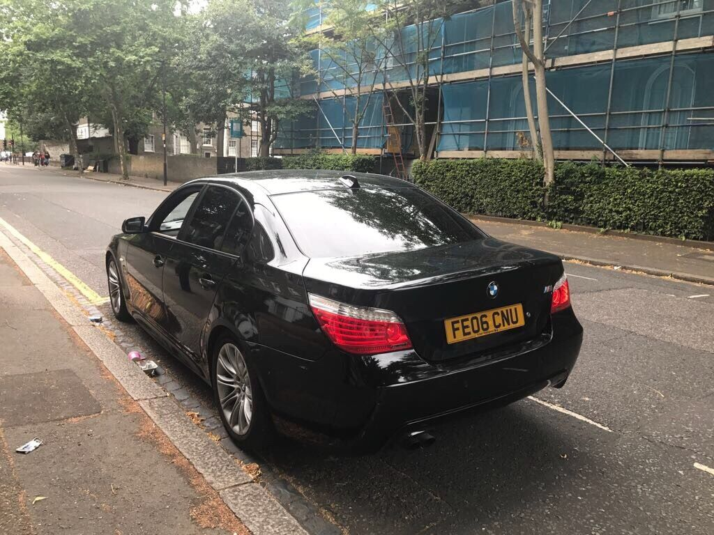2006 bmw 530d m sport auto diesel lci black e60 not 535d 525d 330d in whitechapel london. Black Bedroom Furniture Sets. Home Design Ideas
