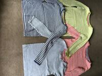 Mini Borden long sleeve tops x4 Age 4-5