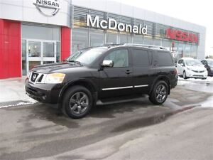 2014 Nissan Armada Platinum,Navigation,Leather heated seats,One