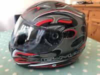G Mac motorcycle helmet size large