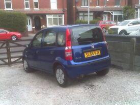FIAT PANDA 1.1 5 DOOR HATCHBACK 10 MONTHS MOT £30 PER YEAR ROAD TAX VERY GOOD CAR