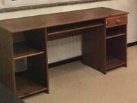 Desk in antique pine