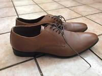 Brown smart shoes