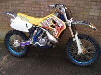 SUZUKI RM250 evo motocross 1994/95 collector or race in british evo championships