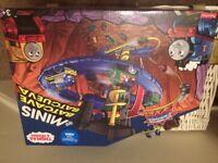 Brand new mini Thomas the tank train set