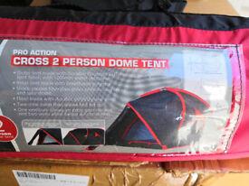Argos 2 person dome tent.