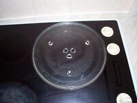 Microwave glass turntable