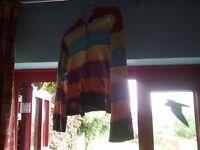 multi-coloured jacket hippy/festival SIZE 10 (Sherwood NG5)