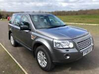 Land Rover Freelander 2 2.2 TD4 XS 5dr, F S History, Just Serviced, 1 Yr MOT