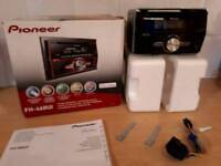 Pioneer FH-460UI Double din CD USB AUX ipod car stereo