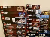 lego empty boxes lot 2