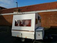 4 berth Rapido Confort-matic folding caravan