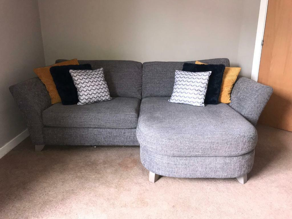 Dfs 2 Seater Corner Sofa Cuddle Chair 1 Year Old Rrp 2000 In Angus Gumtree