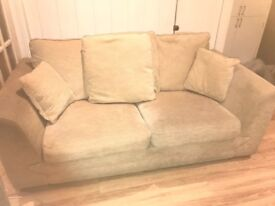 Two dfs sofas. One is a sofa bed. Cream. Need gone ASAP. Ono