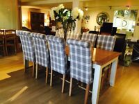 DINING CHAIRS - Contemporary and On Trend Fabric Options