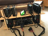 120 MHs Ethereum Mining Rig