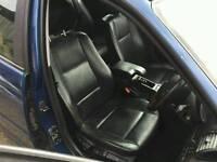Bmw e46 estate black leather interior