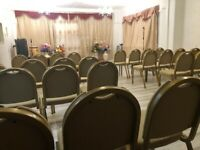 EAST HAM - 50-SEATER D1 HALL TO RENT - KITCHEN AND CHILDREN'S ROOM - 2 SERVICES WEEKLY- 1 ALL-NIGHT