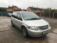 Chrysler Grand Voyager 2.5 crdi 2001 (spares or repairs)