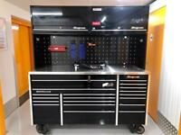"""Snap on 73"""" krl tool box roll cab tool chest"""