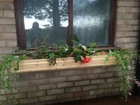 Hand Crafted Window Boxes