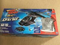 Air hogs Apache R/C helicopter NEW