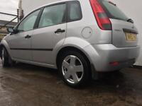 Ford Fiesta Silver 5-dr 1.4 Manual 12 month Mot, Alloy wheels £900