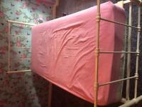 Girls Single Bed - Metal Frame (Next)