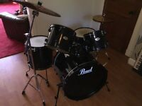 Pearl Drum Kit & Stand