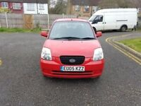 2005 KIA Picanto 1.1 LX 5dr @07445775115 Low Mileage+Insurance+Road Tax Good For First Time Driver