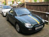 MGF Year 2000. 12 MONTHS MOT. Lots of money spent. Owned for four years.