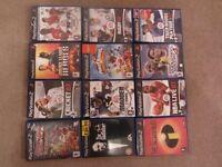 12 x Playstation 2 games bundle for sale