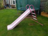 Pink 7ft Chad Valley Slide