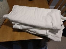 White Cot flannelette bed sheets