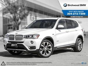 2017 BMW X3 xDrive28i One Owner! No Accidents!
